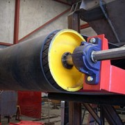 Diamond Groove Pulley Lagging Rubber Type