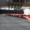 Horizontal vibrating screen 2 liner motion carbon safety trash